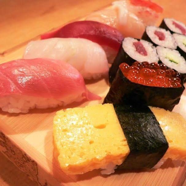 ランチも味わえる江戸前寿司